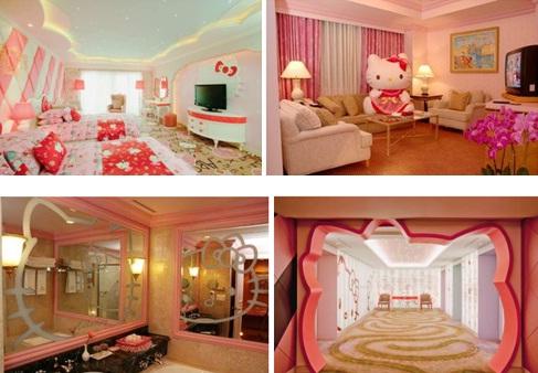 Hello Kitty Hotel di Pulau Jeju