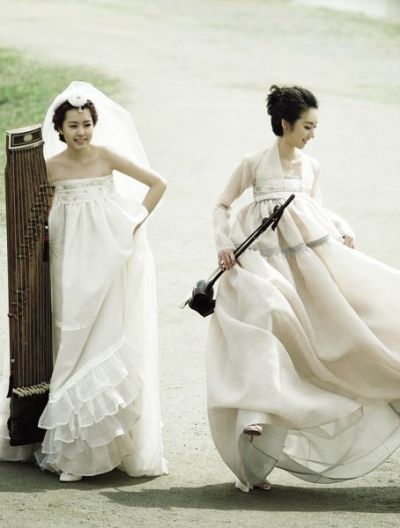 weeding hanbok